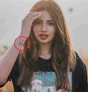 Aashna Hegde Tattoo