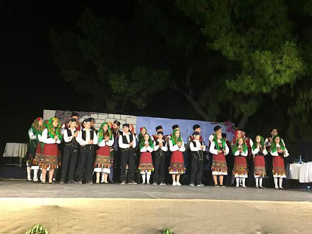 Υπέροχη βραδιά από την Χορευτική ομάδα του Δήμου Ερμιονίδας