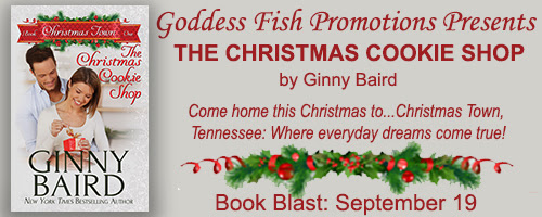 Book Blast: The Christmas Cookie Shop by Ginny Baird