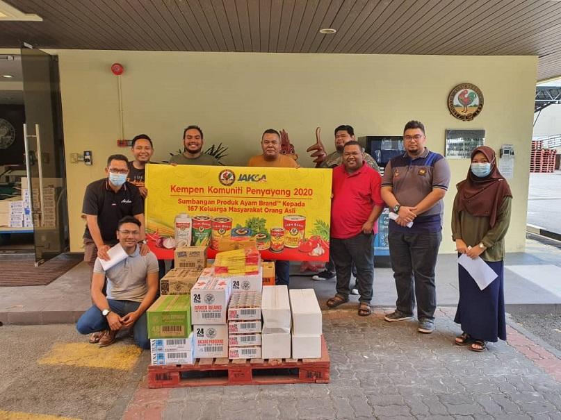 Ayam Brand, Orang Asli, Kampung Orang Asli Changkat Bintang, Corporate Socual Responsibility, Rawlins GLAM, Rawlins Lifestyle