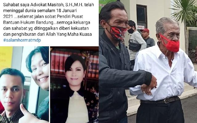 Kuasa Hukum Anak Gugat Ayah Renta di Bandung Meninggal