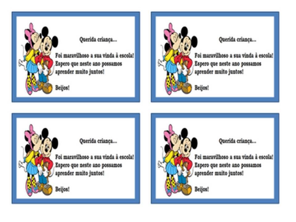 Frases Tou Vivendo: Recadinhos Para Agenda Infantil