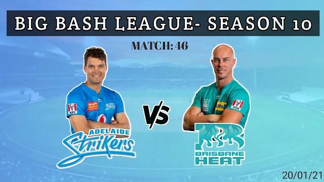 STR VS HEA dream 11 prediction- BBL match 46
