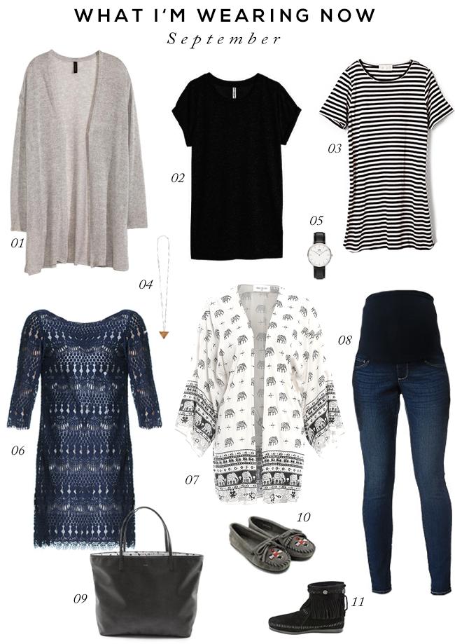 Fall Wardrobe Essentials // bubbyandbean.com