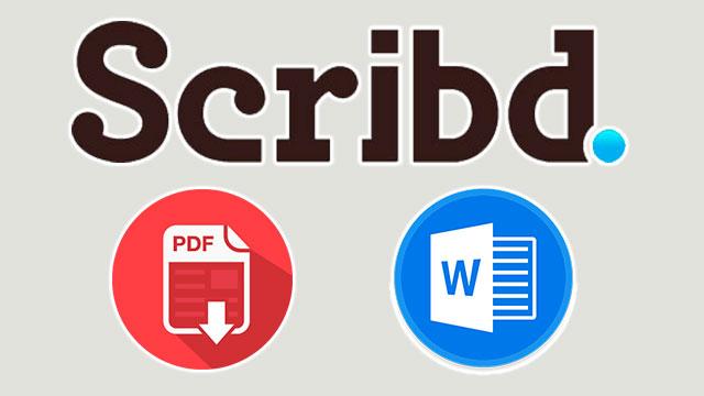 descargar documentos de Scribd gratis