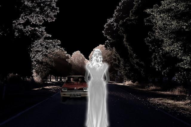 La dame blanche de Palavas les flôts