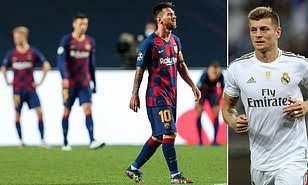 Toni Kroos reveals Real Madrid players celebrated Barcelona 8-2 humiliation