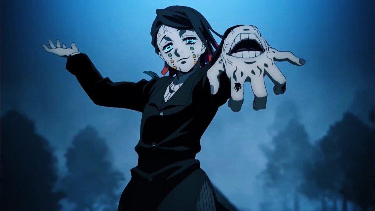 Enmu Iblis Bulan Bawah Kimetsu no Yaiba