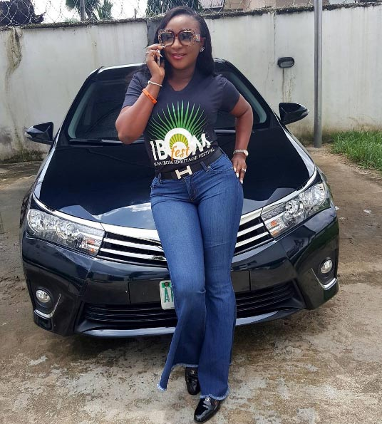 Akwa Ibom is the safest state in Nigeria according to actress Ini Edo
