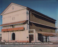 The original A Wing, No.1 Division, Boggo Road Gaol, prior to demolition in 1978.