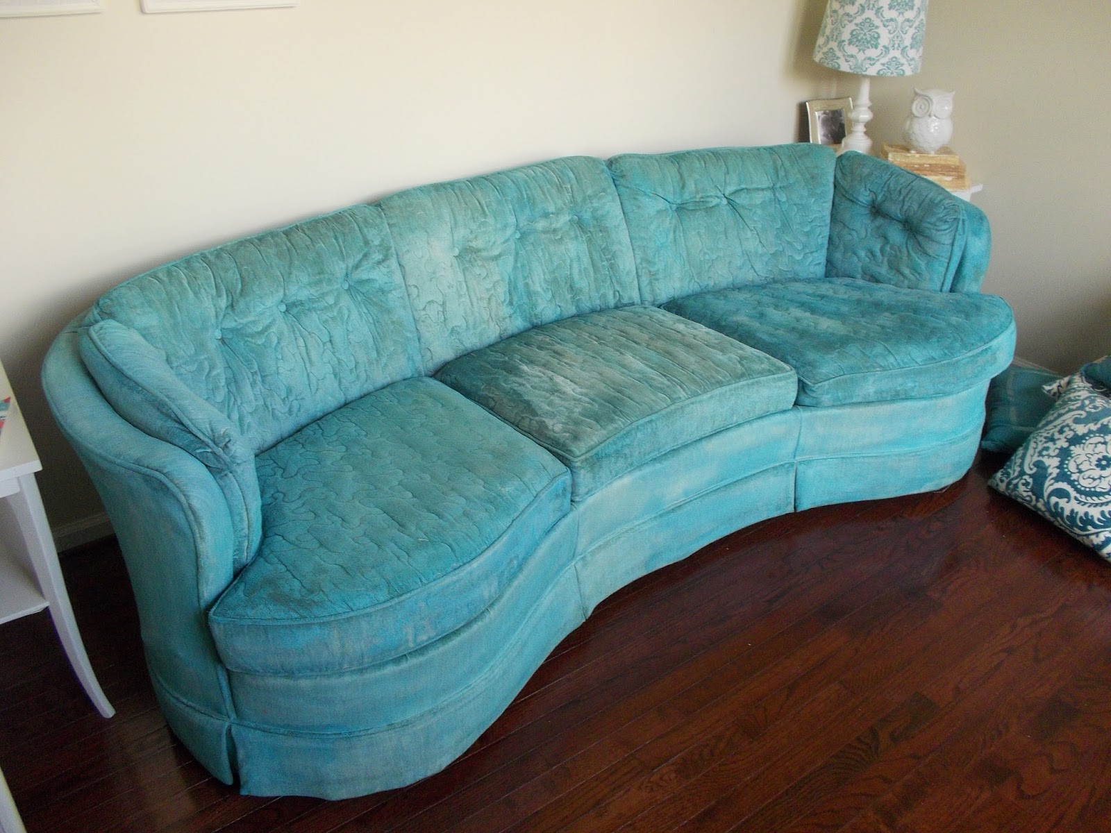 Teal Sofas Ashley Furniture Power Reclining Sofa Reviews Stuff For Sale Vintage Couch