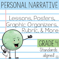 4th Grade Personal Narrative Writing Unit