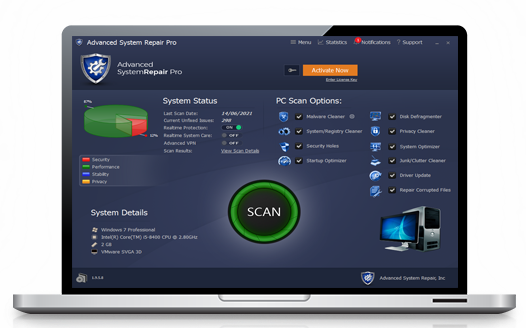 Advanced System Repair Pro License Key 2021