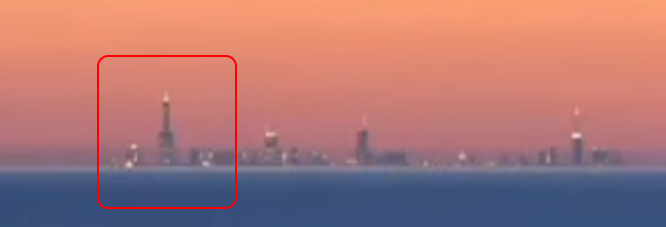 Flat Earth Insanity Chicago Skyline Looming From Mi Explained