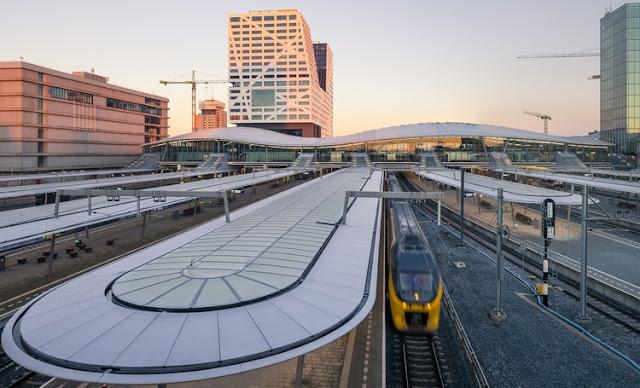 حركة القطارات المتجهة من مدينة اوتريخت إلى روتردام و لاهاي ستكون محدودة