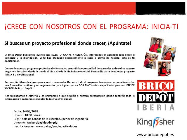Orienta Sue Presentación Del Programa Inicia T Brico Depôt Iberia