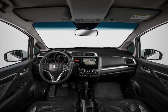 Honda WR-V 2017 - painel
