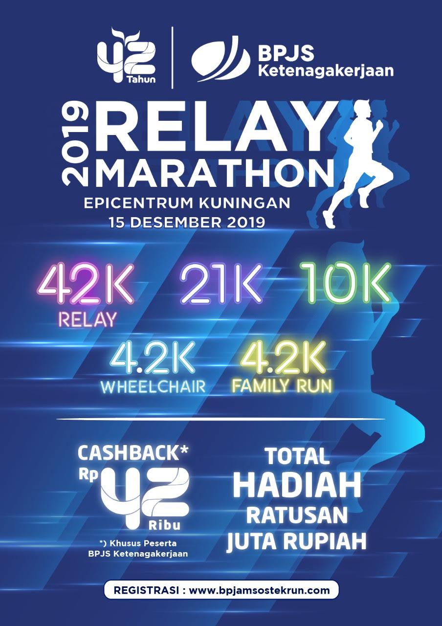 BPJS Ketenagakerjaan Relay Marathon • 2019