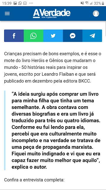 Leandro Flaiban estréia como escritor em livro infantil pela editora BKCC