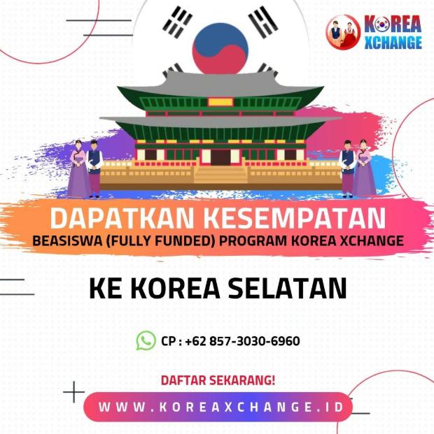Lomba Korea Xhange 2019 dari Exchange Studec International