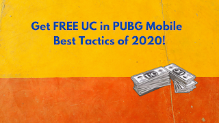 How to Get FREE UC in PUBG Mobile | Best Tactics of 2020!