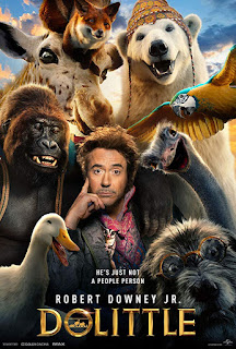 Dolittle (2020) Hindi (Cleaned) Dual Audio HDRip | 720p | 480p