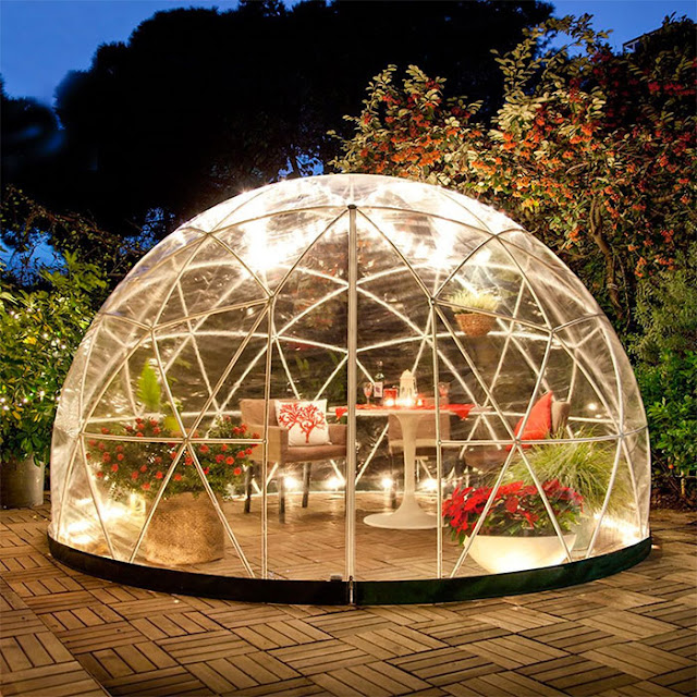 Amazon Is Now Selling A Garden Dome Igloo You Can Build In Your Backyard