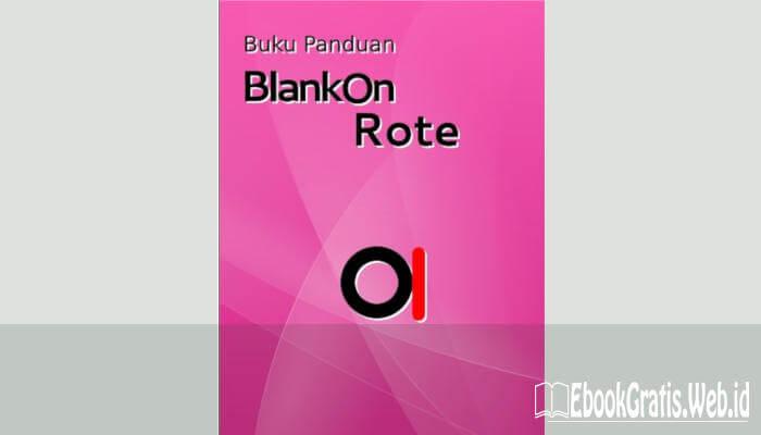 Ebook Buku Panduan Linux Blankon 8 Rote