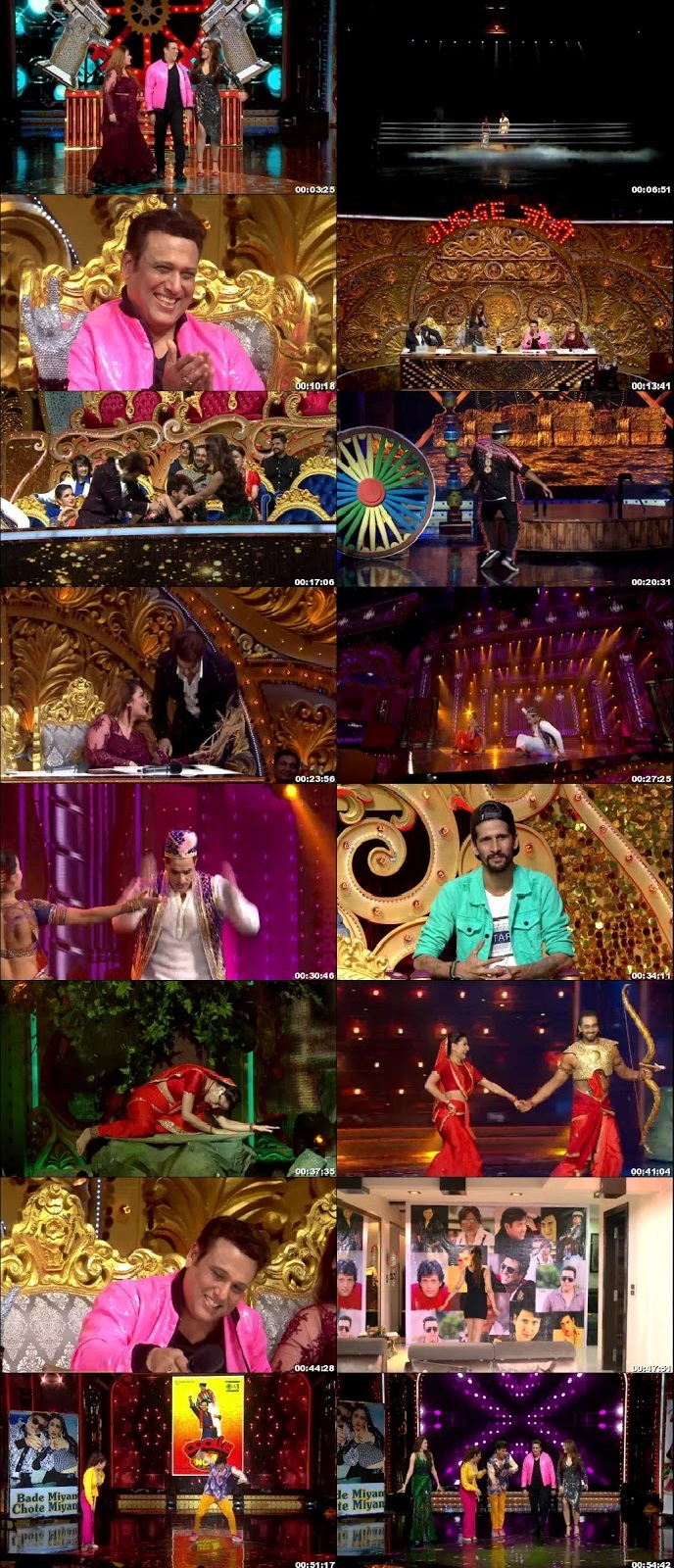 Screenshots Of Hindi Show Nach Baliye Season 9 10th August 2019 Episode 07 300MB 480P HD