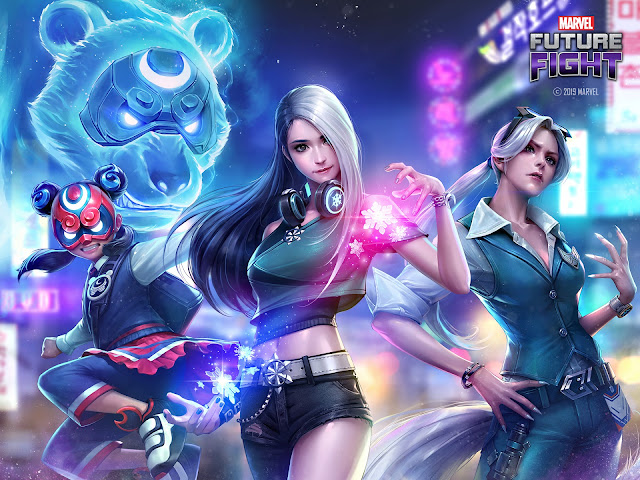 Agents of Atlas Hadir Di Update Terbaru Marvel Future Fight!