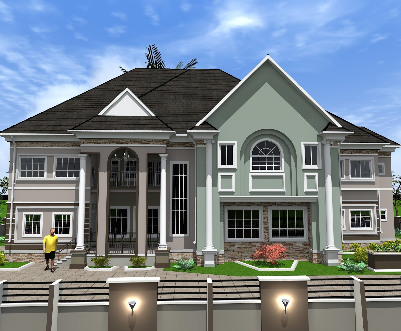 Dream homes 6 bedroom duplex for 4 bedroom dream house