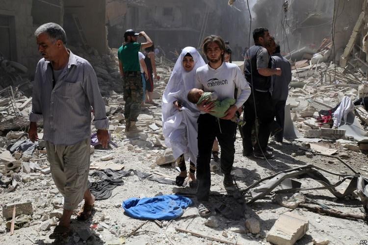 Darah Mengalir Deras di Aleppo, Ada Apa dengan Pers Kita?