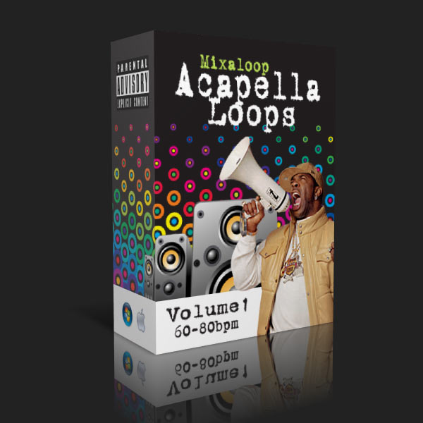 Mixaloop Acapella Loop Pack - Volume 01 (60-80BPM) | DJ MHYKE