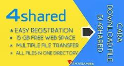 Cara Download di 4shared Terbaru