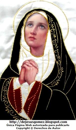 Imagen de la Virgen Dolorosa tomada por Jesus Gómez