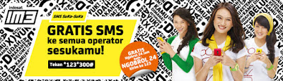 Paket Murah SMS IM3 Update Terbaru 2017