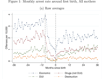Childbirth and crime