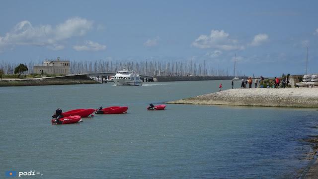 La Rochelle, marea alta