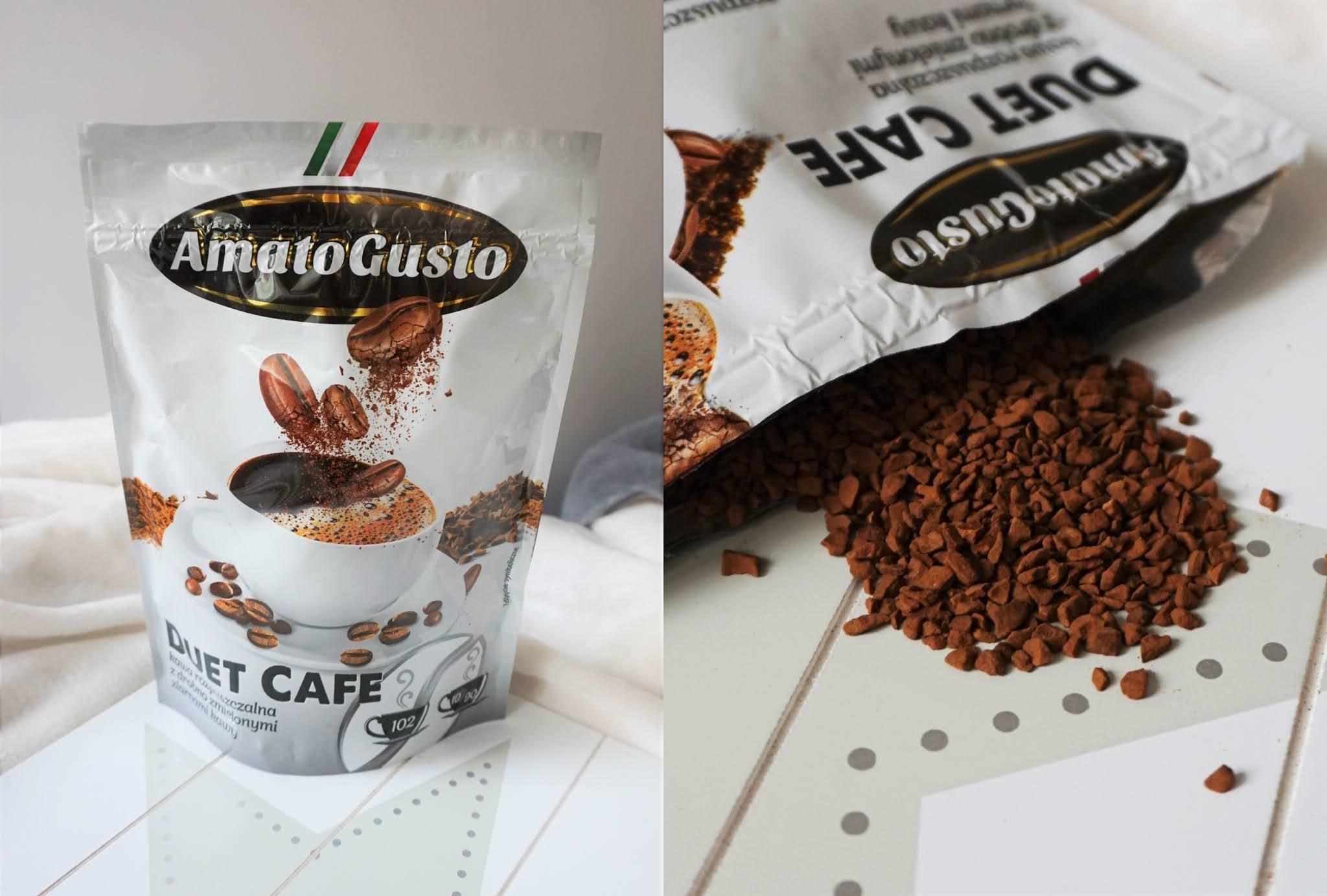 kawa rozpuszczalna Amato Gusto Duet Cafe