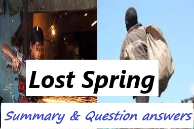 Lost Spring Summary Class 12 | Question Answers | AHSEC