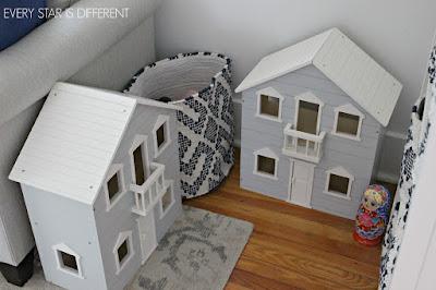 A Minimalist Montessori Home Tour: More Living Room Toy Storage