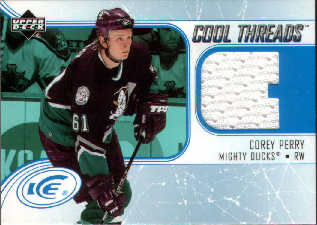 7210f7cca Wax Stain Rookie  Corey Perry - Card of the week