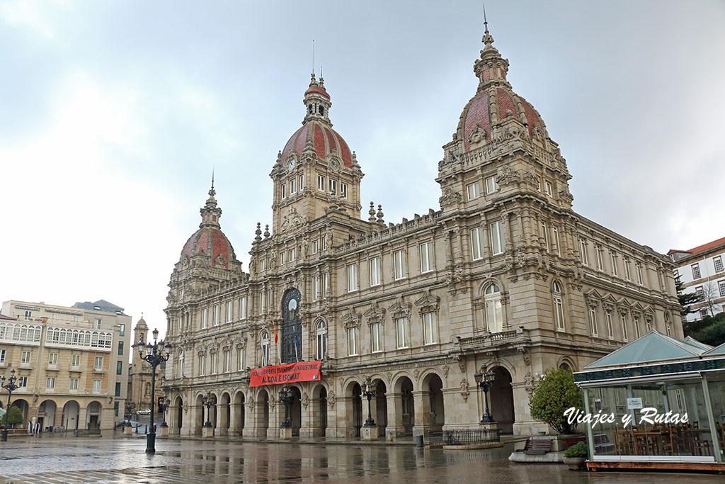 Ayuntamiento, Plaza de María Pita, A Coruña