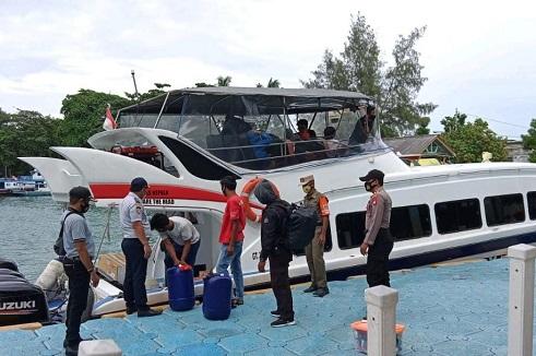 Kunjungan Wisatawan Ke Kepulauan Seribu, Dipantau Polres