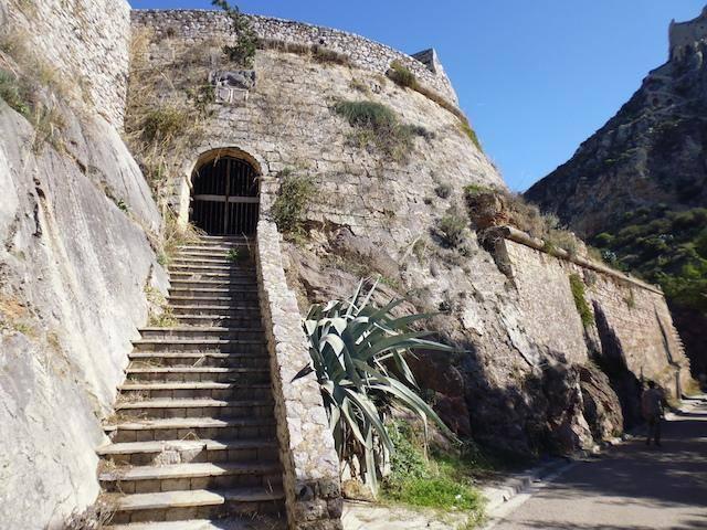 Η πύλη που ο Κολοκοτρώνης την διάβηκε δυο φορές