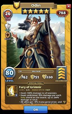 Odin Valhalla Hero Empires & Puzzles