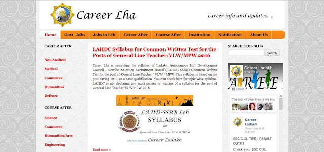 Career Ladakh