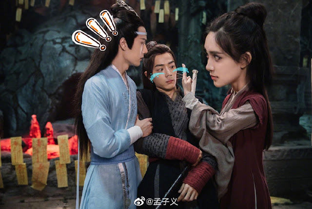 the untamed meng ziyi xiao zhan wang yibo