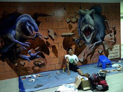 jasa mural, jasa wallpainting, wall painting jakarta