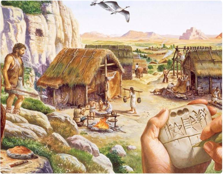 Corak Kehidupan Pada Zaman Prasejarah Indonesia